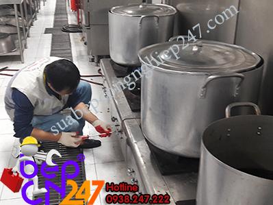 sửa chữa bếp gas công nghiệp
