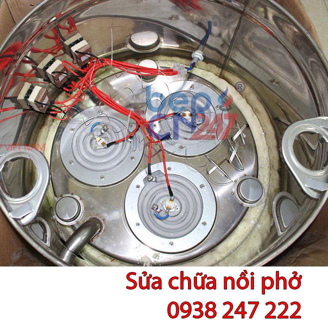 Sửa chữa nồi phở điện