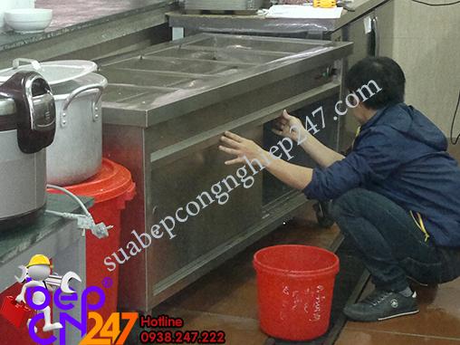 sửa chữa quầy hâm nóng